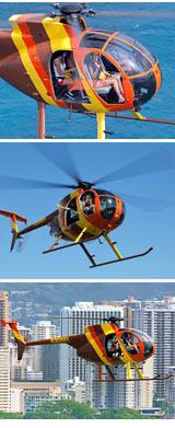Helicopter Tour Oahu, Waikiki Rush - 12 Minutes