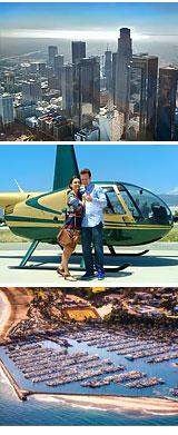 Helicopter Tour Santa Barbara, City Tour - 20 Minutes