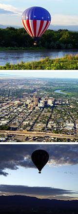 Hot Air Balloon Ride Albuquerque, Rio Grande Valley - 1 Hour Sunrise Flight