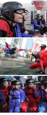 Indoor Skydiving, Earn Your Wings - Hollywood