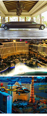 Las Vegas Helicopter Ride, City Lights Tour - 12 Minute Flight