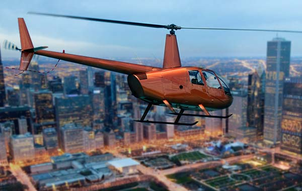 Helicopter Tour Rides Chicago