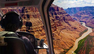 Grand Canyon Helicopter Tour with Landing, West Rim