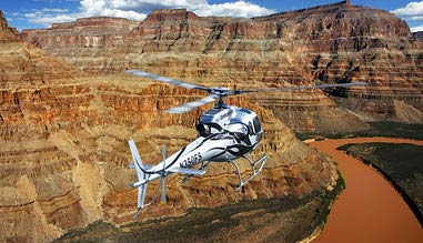 Grand Canyon West Rim Helicopter Tour, Above and Below the Ri