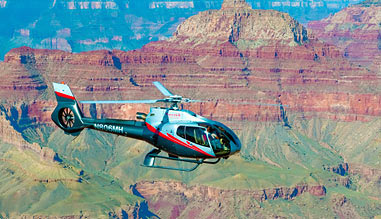 Helicopter Ride Grand Canyon South Rim