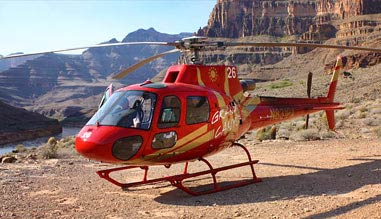 Helicopter Ride Grand Canyon West with Landing and West Rim Entrance