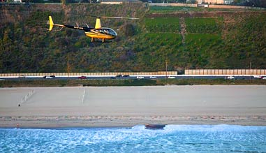 Private Helicopter Ride, Los Angeles