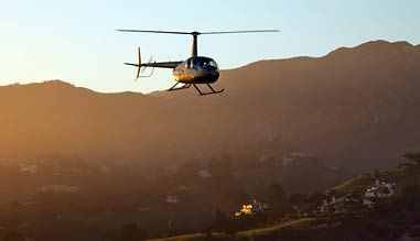 Private Helicopter Ride Los Angeles