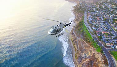 Private Helicopter Ride Los Angeles, Beaches and LAX