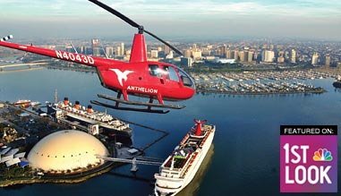 Private Helicopter Ride Los Angeles, Long Beach and Harbor