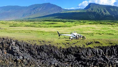 Helicopter Tour Maui, Hana and Haleakala with Cliff Side Landing