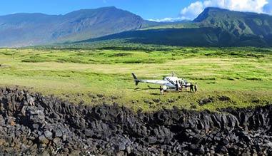 Helicopter Tour Maui, Hana and Haleakala with Cliff Side Landing