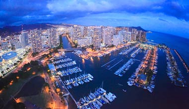 Helicopter Tour Honolulu, Evening Ride - 30 Minutes