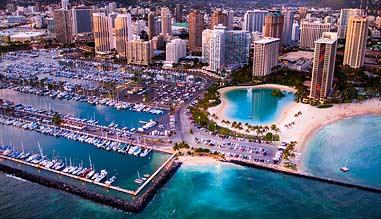 Helicopter Tour Oahu, Waikiki Sunset - 20 Minutes