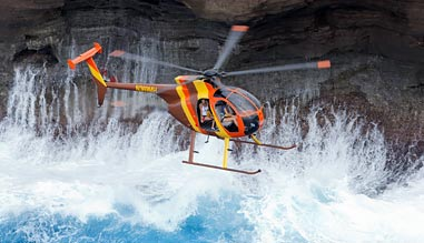 Oahu Helicopter Tour, Doors Off Adventure - 50 Minutes