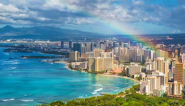 Private Helicopter Tour Oahu, Waikiki and South Shore - 30 Minutes