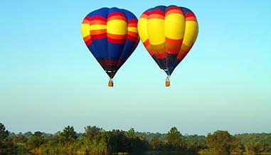 Hot Air Balloon Ride Orlando, Private Basket