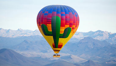 Hot Air Balloon Ride Phoenix, Sonoran Desert