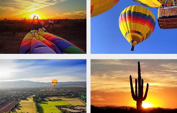 Hot Air Ballooning in Phoenix photos