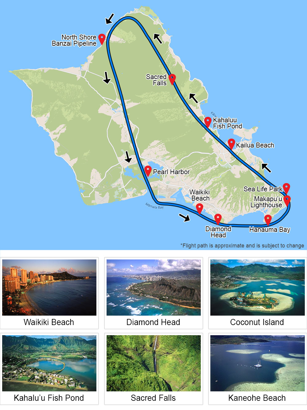 Oahu Helicopter Tour, Doors Off Adventure - 50 Minuteso