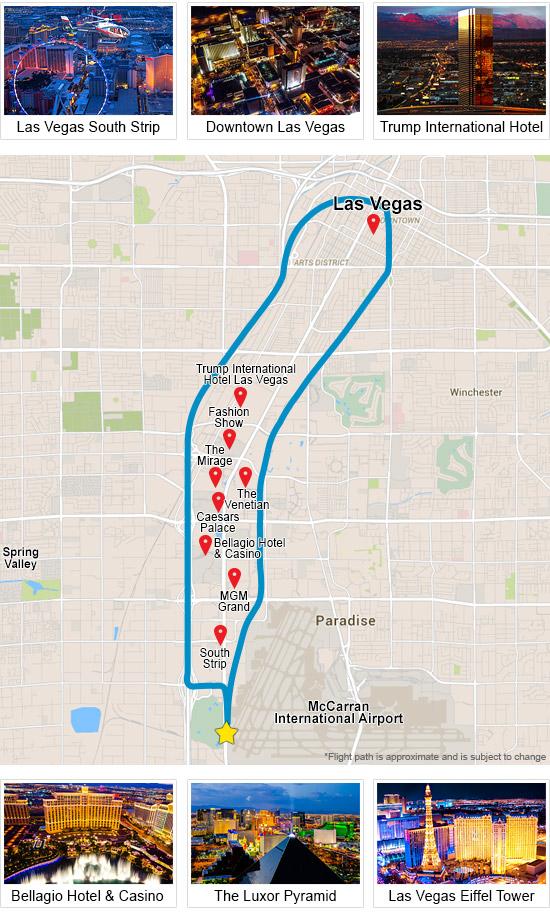 Map Of Las Vegas Strip Map Vegas Strip United States Of America