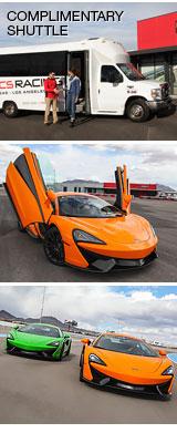 Mclaren 570s Drive Las Vegas Motor Speedway Shuttle
