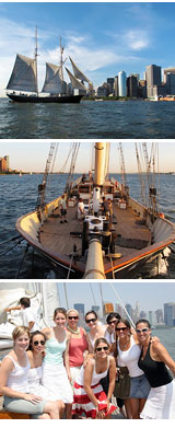 Sailing, Manhattan Tall Ship Discovery Cruise - New York