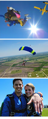 Skydive Dallas, Whitewright - 14,000ft Jump Weekdays
