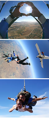 Skydive Hollister - 11,000ft Jump