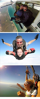 Skydive Houston, Crystal Beach - 11,000ft Jump