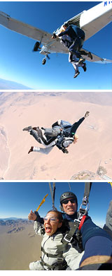 Skydive Las Vegas - 12,000ft Jump - Free Hotel Shuttle Included
