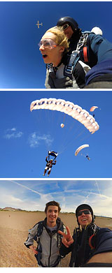 Skydive Las Vegas with Pro Video and Photo Package