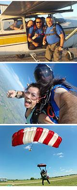 Skydiving Dallas - 13,500ft Jump