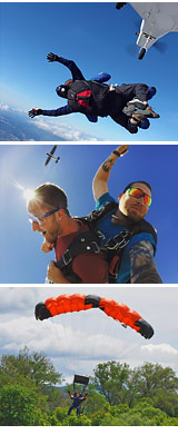 Skydiving San Francisco - 12,000ft Jump