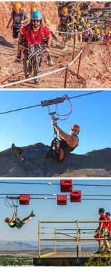 Zip lining Las Vegas