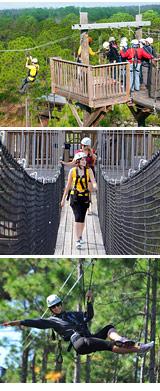 Ziplining Orlando
