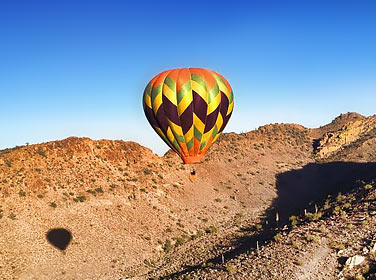 Hot Air Balloon Ride, North Phoenix